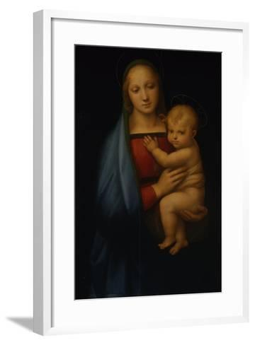 The Granduca Madonna-Sanzio Raffaello-Framed Art Print