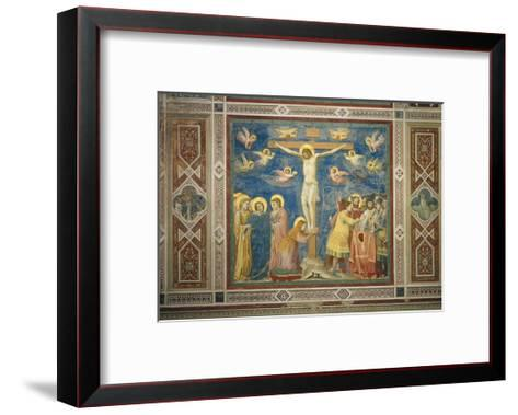 Stories of the Passion the Crucifixion-Giotto di Bondone-Framed Art Print