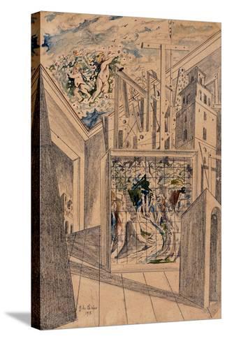 The Poet's House-De Chirico Giorgio-Stretched Canvas Print