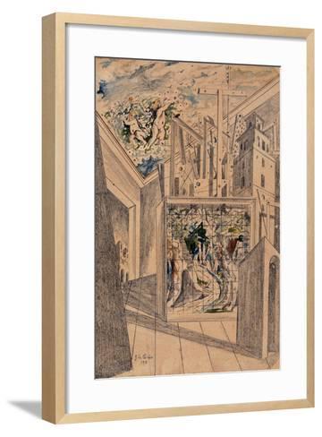 The Poet's House-De Chirico Giorgio-Framed Art Print