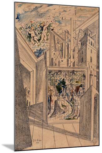 The Poet's House-De Chirico Giorgio-Mounted Giclee Print