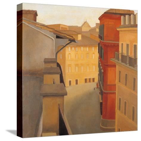 Via Del Lavatore-Antonio Donghi-Stretched Canvas Print