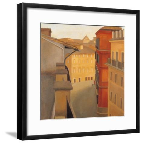 Via Del Lavatore-Antonio Donghi-Framed Art Print
