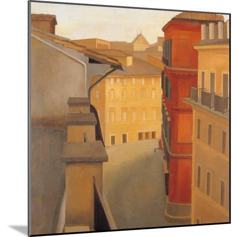 Via Del Lavatore-Antonio Donghi-Mounted Giclee Print