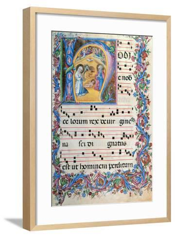 Day Hours and Night Hours Antiphonary From First Saturday of Advent To IV Sunday After Epiphany--Framed Art Print