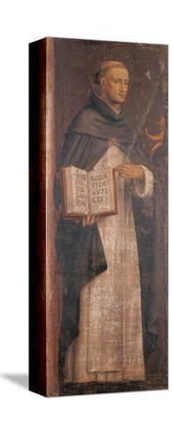 St Thomas Aquinas-Bernardino Luini-Stretched Canvas Print
