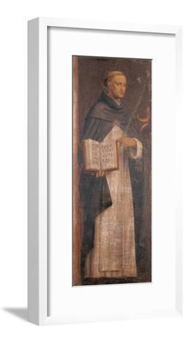 St Thomas Aquinas-Bernardino Luini-Framed Art Print