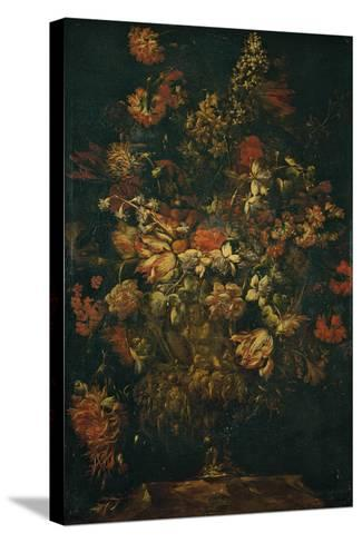 Flower Pot-Biggi Felice Fortunato-Stretched Canvas Print