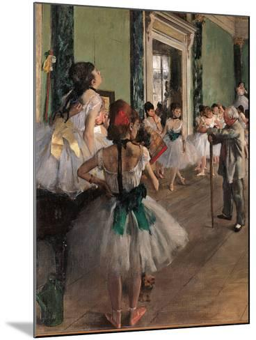 The Dance Class-Edgar Degas-Mounted Giclee Print
