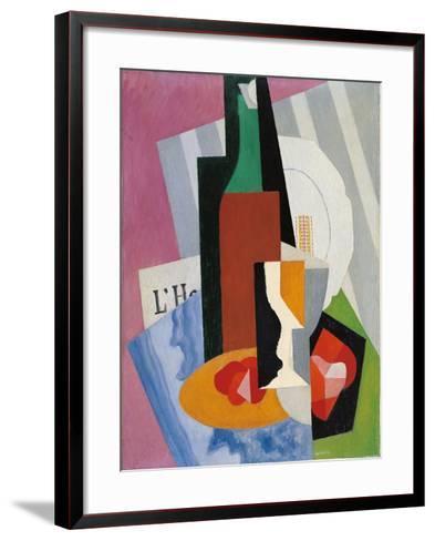 Still Life-Gino Severini-Framed Art Print