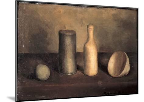 Still Life-Morandi Giorgio-Mounted Giclee Print