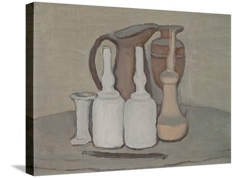Still Life-Morandi Giorgio-Stretched Canvas Print