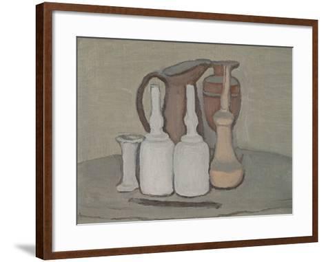 Still Life-Morandi Giorgio-Framed Art Print