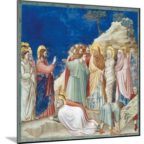 Stories of Christ the Raising of Lazarus-Giotto di Bondone-Mounted Giclee Print