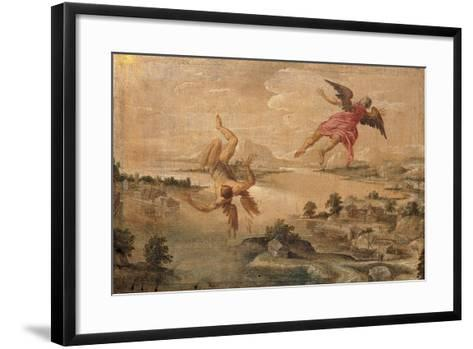 Icarus' Fall--Framed Art Print
