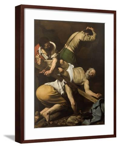 Martyrdom of St Peter-Caravaggio-Framed Art Print