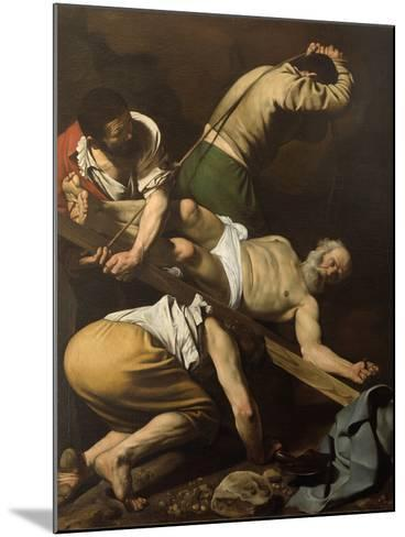Martyrdom of St Peter-Caravaggio-Mounted Giclee Print
