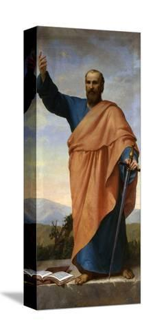 Saint Paul-L. Rozzi-Stretched Canvas Print