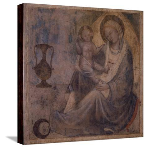 Madonna of Humility--Stretched Canvas Print