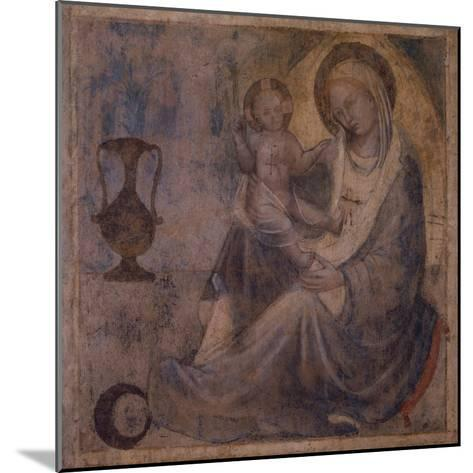 Madonna of Humility--Mounted Giclee Print