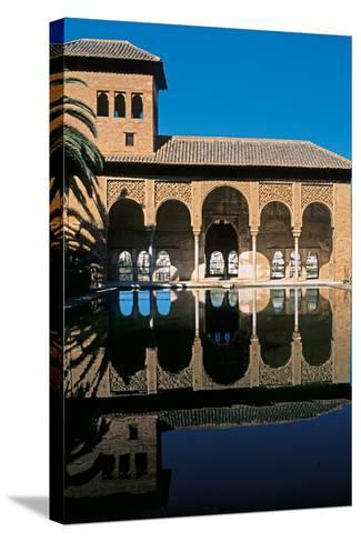 Alhambra, Palace of the Partal, 14th Century--Stretched Canvas Print