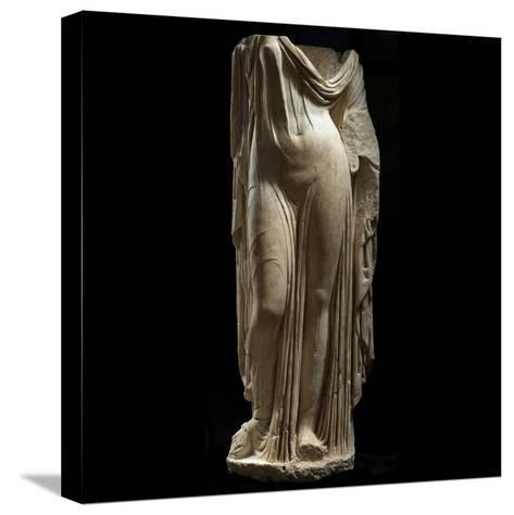 Statue Female Portrait of Type of Venus Genetrix--Stretched Canvas Print