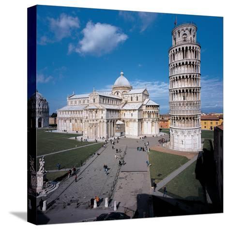 Campo Dei Miracoli - Pisa (Piazza Dei Miracoli)- Rainaldo-Stretched Canvas Print