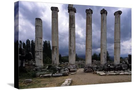 Temple of Aphrodite, 1st Century A.C.--Stretched Canvas Print