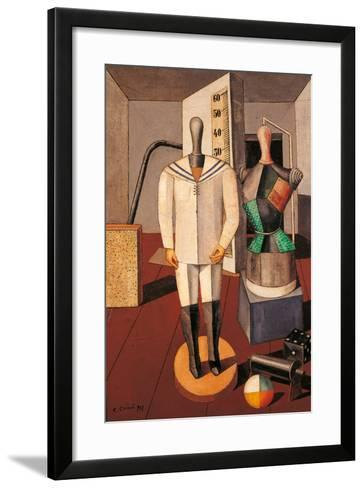 Mother and Son-Carlo Carr-Framed Art Print