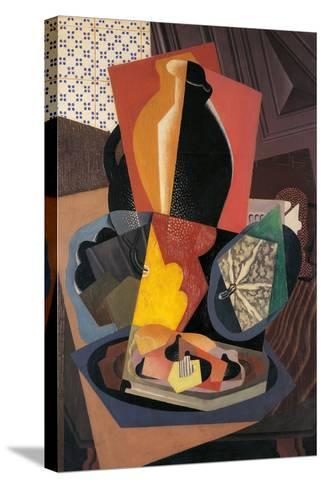 Large Still Life with a Pumpkin-Gino Severini-Stretched Canvas Print