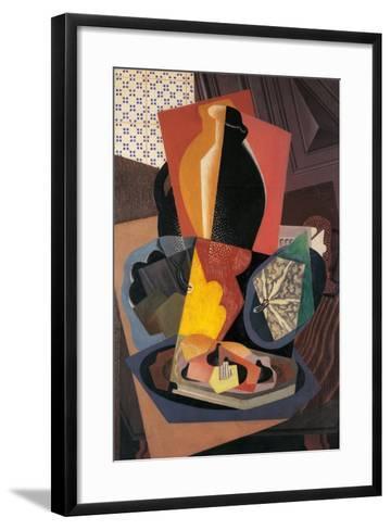 Large Still Life with a Pumpkin-Gino Severini-Framed Art Print