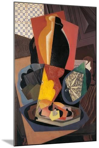 Large Still Life with a Pumpkin-Gino Severini-Mounted Giclee Print