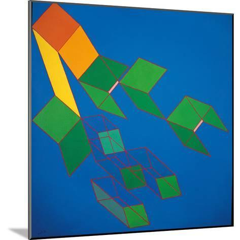 Dissipative Structures-Achille Perilli-Mounted Giclee Print
