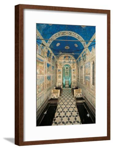 Fresco Cycle in the Scrovegni Chapel-Giotto di Bondone-Framed Art Print