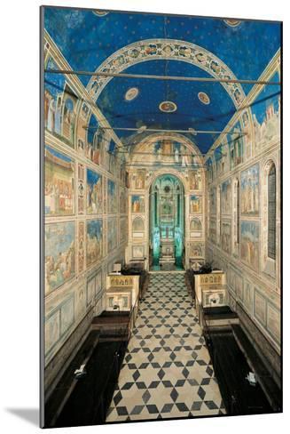 Fresco Cycle in the Scrovegni Chapel-Giotto di Bondone-Mounted Giclee Print