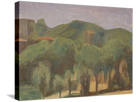 Landscape-Morandi Giorgio-Stretched Canvas Print