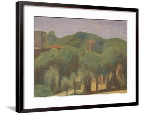 Landscape-Morandi Giorgio-Framed Art Print