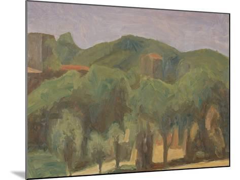 Landscape-Morandi Giorgio-Mounted Giclee Print
