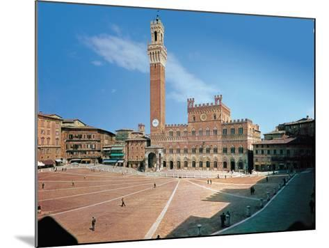 Piazza Del Campo, Siena--Mounted Giclee Print