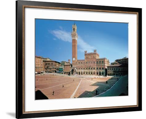 Piazza Del Campo, Siena--Framed Art Print