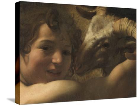 San Giovanni Battista Nel Deserto St John the Baptist in the Desert--Stretched Canvas Print