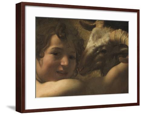 San Giovanni Battista Nel Deserto St John the Baptist in the Desert--Framed Art Print