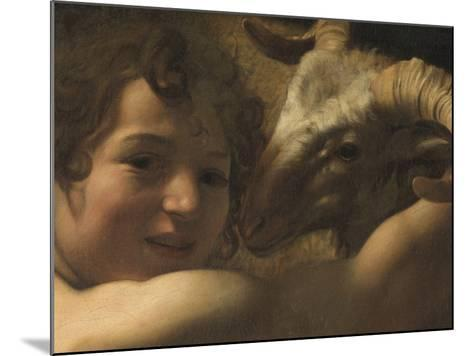 San Giovanni Battista Nel Deserto St John the Baptist in the Desert--Mounted Giclee Print