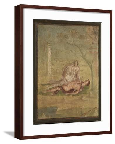 Pyramus and Tisbe-Unknown-Framed Art Print