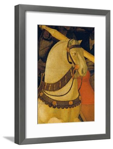 Rout of St Roman (Battle of St Roman)-Paolo Uccello-Framed Art Print