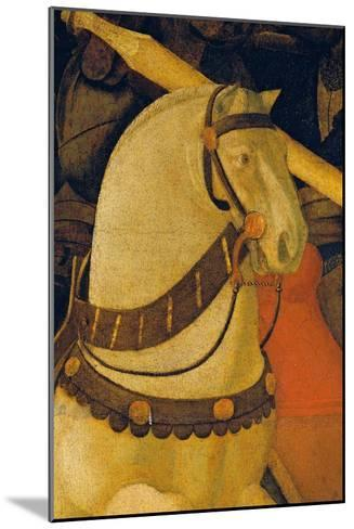 Rout of St Roman (Battle of St Roman)-Paolo Uccello-Mounted Giclee Print