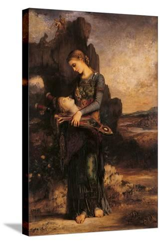 Orpheus-Gustave Moreau-Stretched Canvas Print