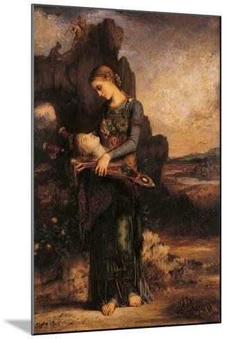 Orpheus-Gustave Moreau-Mounted Giclee Print