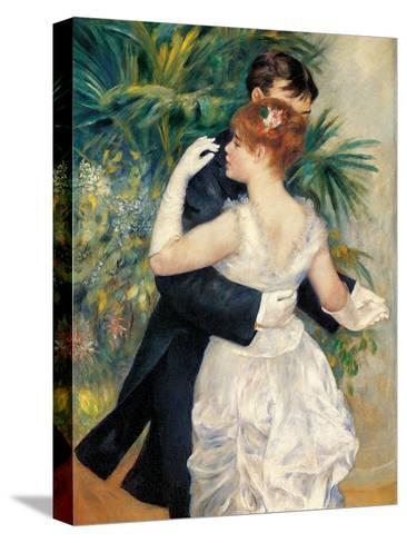 City Dance-Pierre-Auguste Renoir-Stretched Canvas Print
