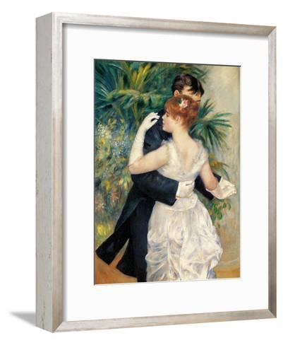 City Dance-Pierre-Auguste Renoir-Framed Art Print